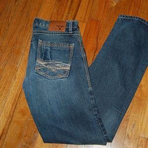 Men's Wrangler 20X Style 42 Vintage Boot Cut Jeans